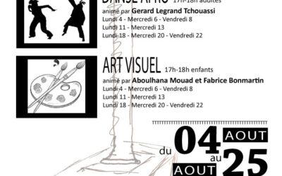 ateliers danse et dessin africains