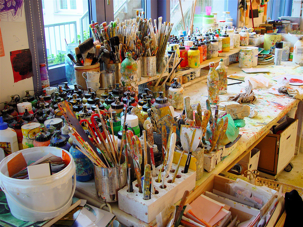 Atelier d'art
