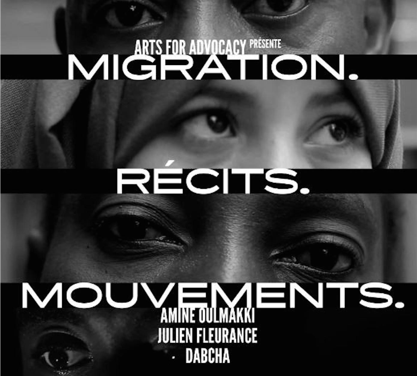 """vernissage expo """"Migration. Récits. Mouvements."""""""