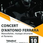 Concert Antonio Ferrara