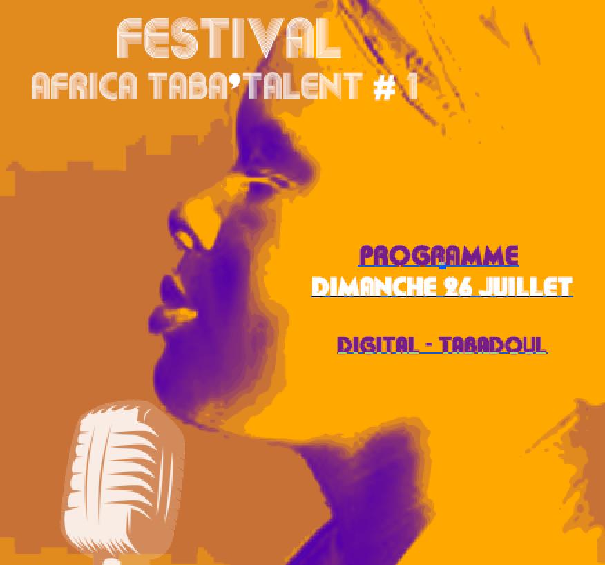 Programme Festival Dimanche